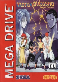 YuYu Hakusho: Sunset Fighters Box Art