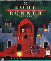 Lode Runner Online: Mad Monk's Revenge Box Art