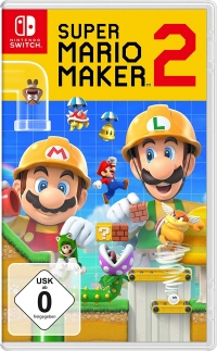 Super Mario Maker 2 [DE] Box Art