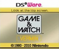 Game & Watch: Vermin Box Art