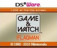 Game & Watch: Flagman Box Art