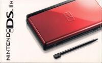 Nintendo DS Lite - Crimson/Black [NA] Box Art