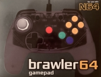 Brawler64 - Color Edition (Smoke Gray) Box Art