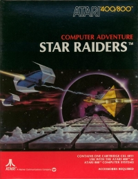Star Raiders Box Art