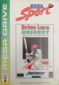 Brian Lara Cricket - Sega Sport Box Art