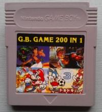 G.B. Game 200 in 1 Box Art