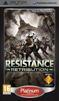 Resistance retribution - Platinum Box Art