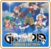 Grandia - HD Collection Box Art