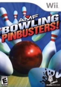 AMF Bowling: Pinbusters! Box Art