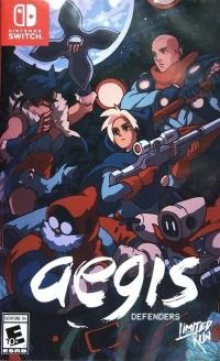 Aegis Defenders (dark cover) Box Art