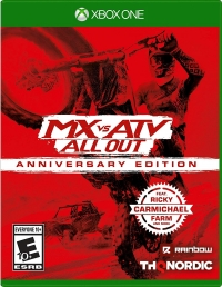 Mx Vs ATV All Out: Anniversary Edition Box Art