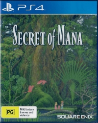 Secret of Mana Box Art