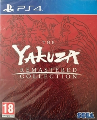 Yakuza Remastered Collection, The - Day One Edition Box Art
