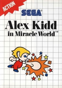 Alex Kidd In Miracle World - Action Box Art