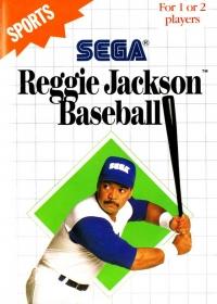 Reggie Jackson Baseball (Blue Cartridge) Box Art