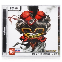 Street Fighter V [RU] Box Art