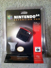 Nintendo 64 Expansion Pak (Blister Pack) Box Art
