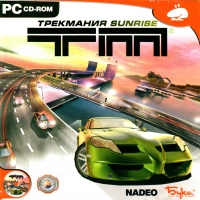 TrackMania Sunrise [RU] Box Art