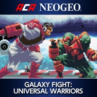 ACA NeoGeo: Galaxy Fight: Universal Warriors Box Art