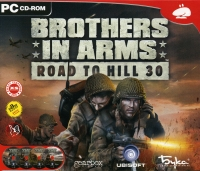Brothers in Arms: Road to Hill 30 [RU] Box Art