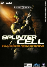Tom Clancy's Splinter Cell: Pandora Tomorrow [RU] Box Art