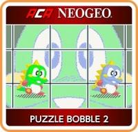 ACA NeoGeo: Puzzle Bobble 2 Box Art