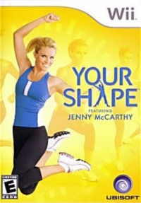 Your Shape Featuring Jenny McCarthy Box Art