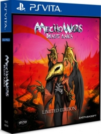 Mecho Wars: Desert Ashes - Limited Edition Box Art