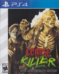 Corpse Killer - 25th Anniversary Edition (Saturn styled cover) Box Art