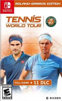 Tennis World Tour - Roland-Garros Edition Box Art