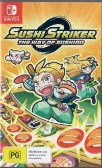 Sushi Striker: The Way of Sushido Box Art