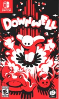 Downwell Box Art