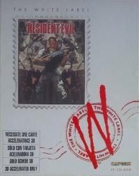 Resident Evil - The White Label [FR] Box Art