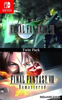 Final Fantasy VII & Final Fantasy VIII Remastered: Twin Pack Box Art