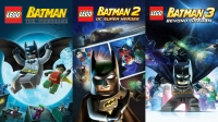 LEGO Batman Trilogy Pack Box Art