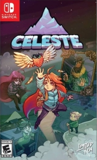 Celeste (Celeste reaching cover) Box Art