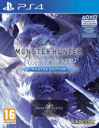 Monster Hunter World: Iceborne Master Edition (Steelbook) Box Art