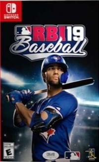 R.B.I. Baseball 19 [CA] Box Art