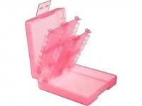 INSTEN For Nintendo DS / DS Lite / DSi / DSi LL / XL Game Card Case 16-in-1 (Light Coral) Box Art