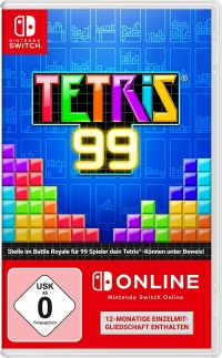 Tetris 99 [DE] Box Art