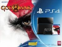 Sony PlayStation 4 CUH-1116A - God of War III Box Art