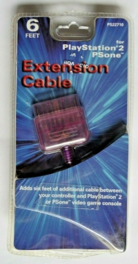 Datel PS1/PS2 Controller Extension Cable Box Art