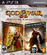 God of War: Origins Collection Box Art