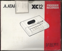 XC-12 Program Recorder Box Art