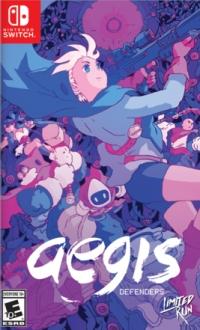 Aegis Defenders (purple cover) Box Art