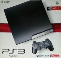 Sony PlayStation 3 CECH-2001A (Netflix) Box Art