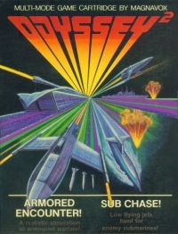 Armored Encounter! / Sub Chase! Box Art