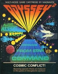Cosmic Conflict! Box Art