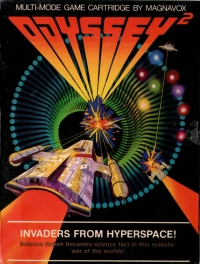 Invaders from Hyperspace! Box Art