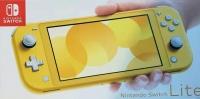 Nintendo Switch Lite - Yellow Box Art